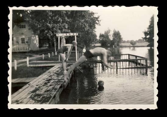 Baden im Rehsumpf Dessau