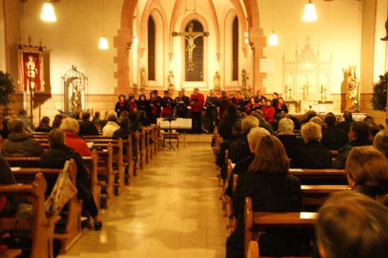Adventskonzert des Gesangvereins Wernborn 2011