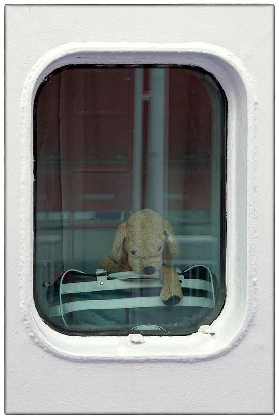 DFDS-Fähre an Bord