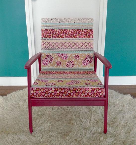 JOLI, fauteuil scandinave, scandinave chinois, fauteuil vintage, années 60