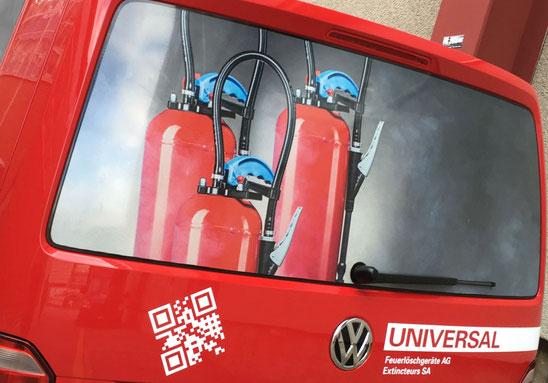 Service Fahrzeug der UNIVERSAL