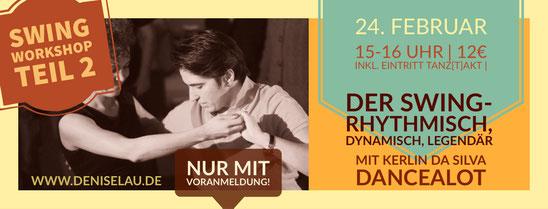 Swing Workshop am 201.01.19 in der Burg