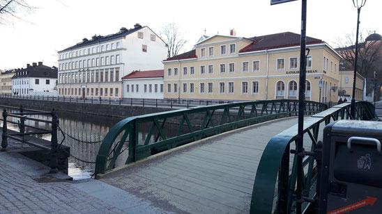 Leeres Uppsala: Während der Vorlesungszeit ist hier eigentlich viel los