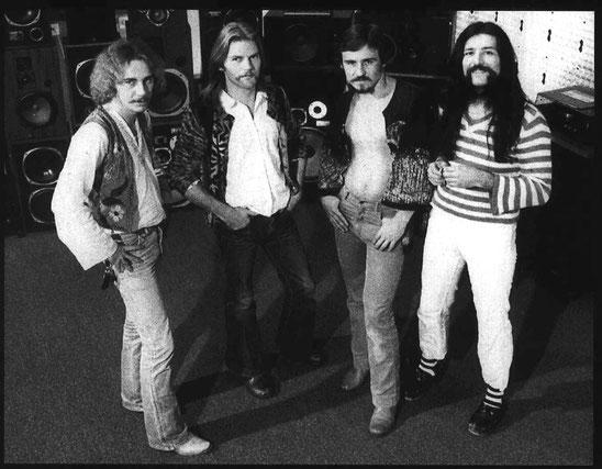McOil im September 1979 während der Aufnahmen im legendären Bad Schussenrieder Ege Soundstudio.