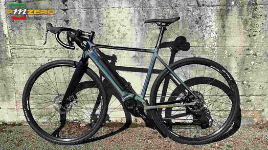Bici elettrica Gravel Ebike motore Polini Ep3