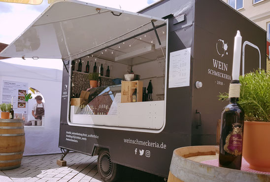 Weintruck Kempten Weinschmeckeria Streed Food Truck