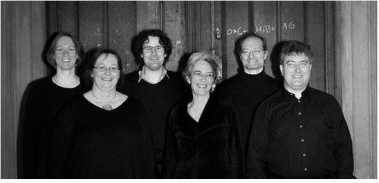 von links: Susanne Zippe, Beate Anton, Christoph Teichner, Tanja Grossmann, Florian Schmid, Peter Bader;  Foto: Susanne Gruner