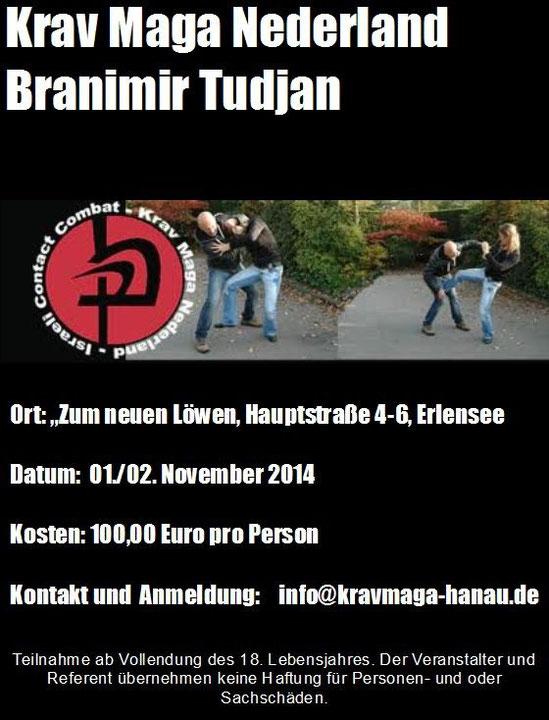 Branimir Tudjan Krav Maga Seminar
