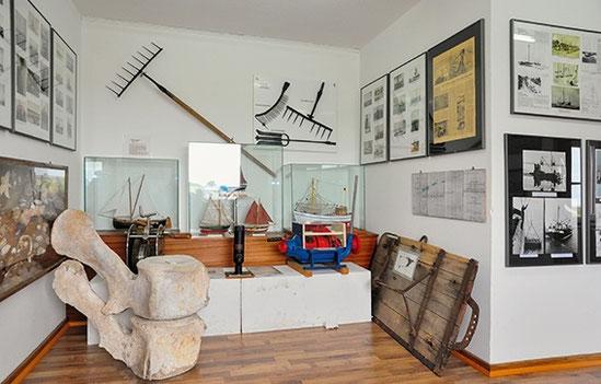 Im Schifffahrtsmuseum auf Pellworm