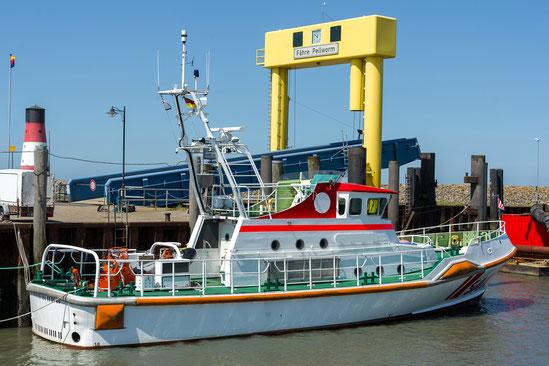 Seenotrettungsboot der DGZRS Pellworm