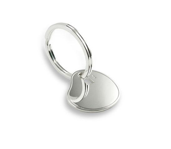 """silberner schlüsselanhänger heartbeats herz heart """"key to my heart"""" """"beating heart """"schlagendes  key ring pendantherz silverheart"""