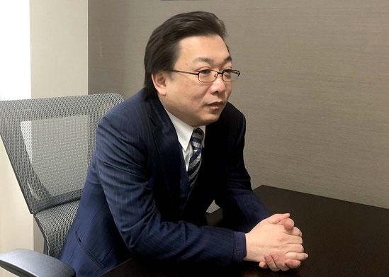 取締役 内藤 克友氏
