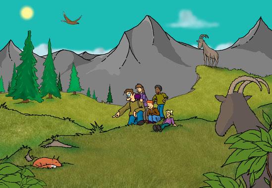 sorties scolaires en haute savoie l'hermine des alpes