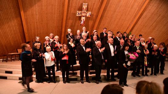 Noël 2014 en l'église Saint-Michel avec la chorale de Muzy