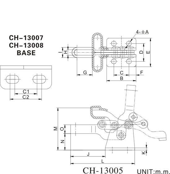 Zeichnung CH-13007 und CH-13008