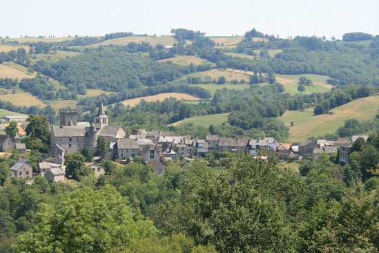 vue panoramique du village