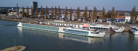 Neues Phoenix Flussreisenschiff MS Andrea getauft