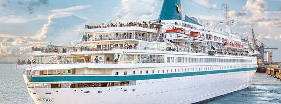 MS Albatros verlässt die Phoenix Reisen Flotte