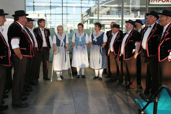 Jodlerreis 2012 an Genfersee