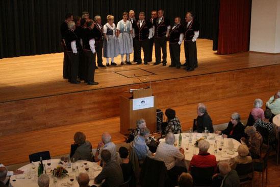 Jubilarenfeier in Muttenz, 26. Oktober 2013