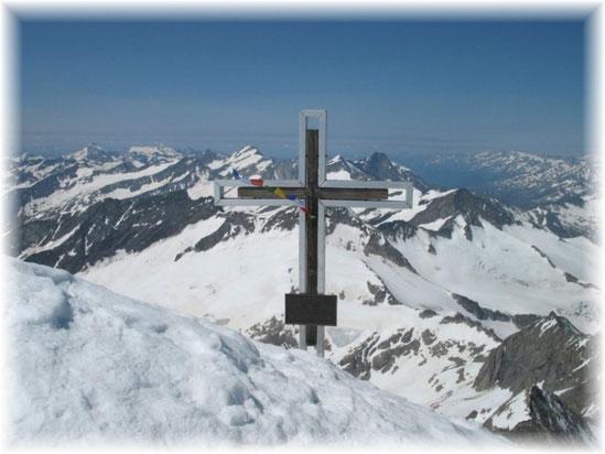 Großvenediger (3660m), Hohe Tauern, Juli 2013