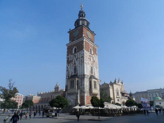 Tour de l'Hôtel de Ville, Cracovie.