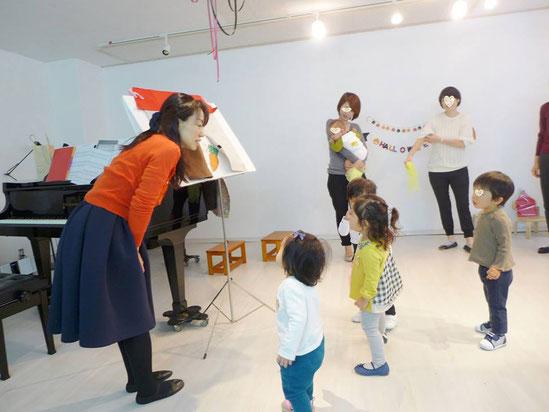 幼児教室ハロウィン・パネルシアター