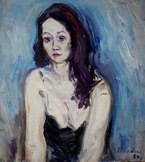 Editha   1967, Öl auf LW, 57 cm x 62 cm
