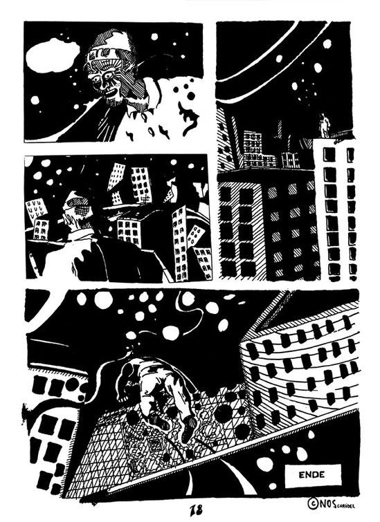 Eine kurze Graphik-Novel story schuf der Bremer Zeichner Niels-Schröder vor vielen Jahren für das Bremer Comic-Magazin Panel.