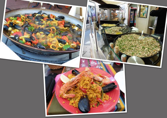 Paella in Saintes Maries de la Mer