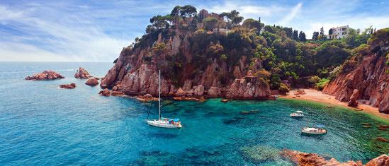 Location de villas sur toute la Costa Brava en bord de mer pour les vacances et profitez des plus belles plages d'Espagne