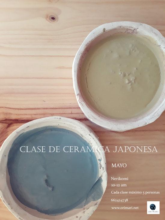 Clase de cerámica japonesa