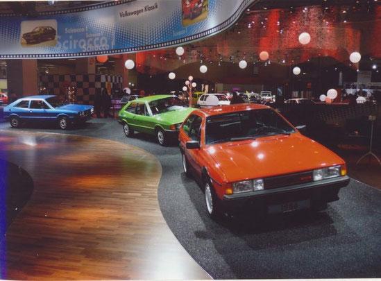 """Techno Classia, VW Museum """"35 Jahre VW Scirocco"""""""