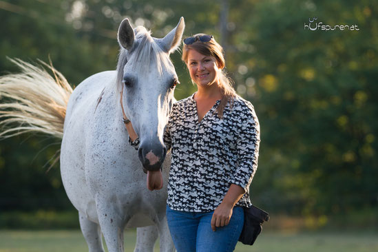 Pferdetrainer Fotoshooting