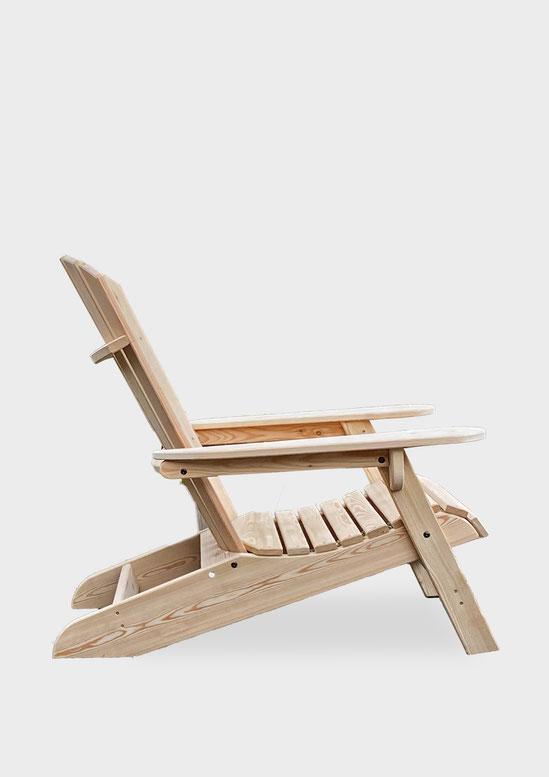fauteuil adirondack bois jardin