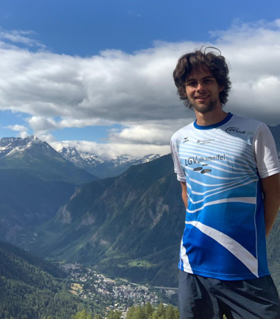Seb Anthony bei der Tour du Mont Blanc im Sommer diesen Jahres