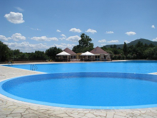 Unser Pool in Olbia