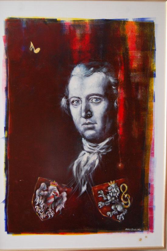 Porträt von J.B. Vanhal, copyright by milu loeff-loeffko