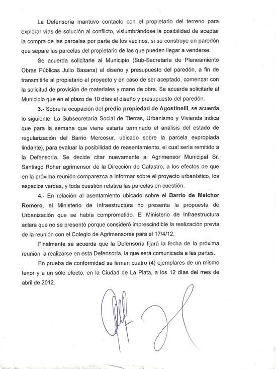 Acta del 12 de abril 2012 de la mesa de gestion