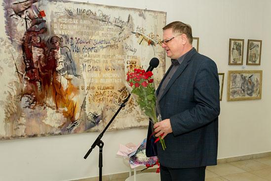 Заместитель председателя Белгородского отделения Союза писателей России поэт, прозаик Михаил Кулижников