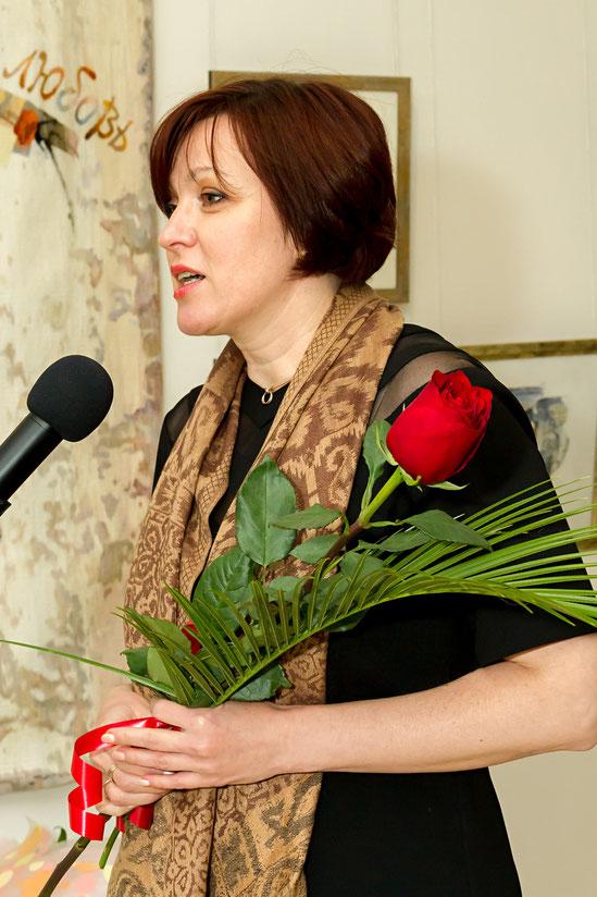 Директор Белгородского государственного художественного музея Татьяна Александровна Лукьянова