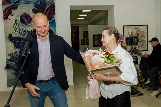Начальник Управления культуры Белгородской области Константин Курганский