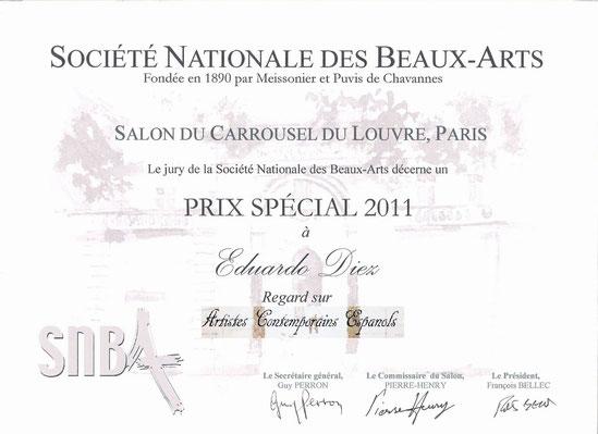 Diploma obtenido en la Exposición