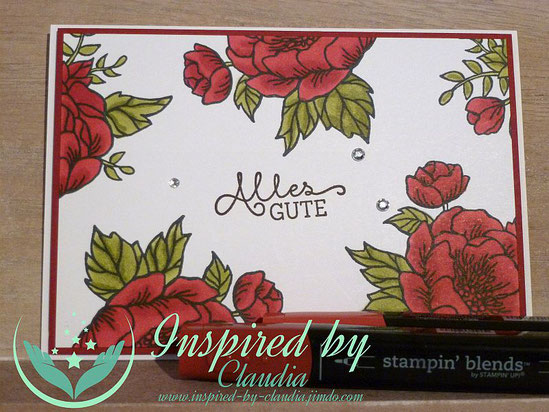 Farbenfroh inspired-by-claudia Stampin' Blends