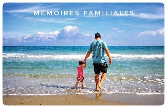 mémoires familiales,papa,mer,enfant,famille