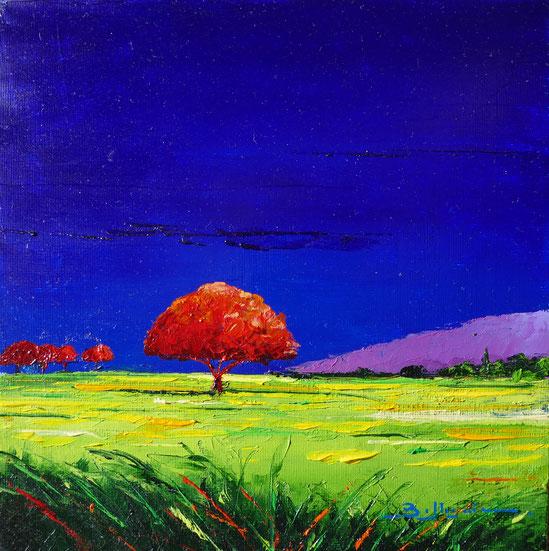 alain-belleguie-lumière d'été H/CT 20 cm x 20 cm (Collection privée)