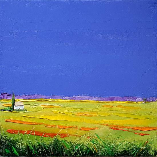 alain-belleguie-lumière-de-Provence H/CT 20 cm x 20 cm