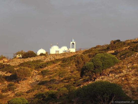 Doppelkapelle Agios Ioannis Theologos und Panagia in Megalo Chorio