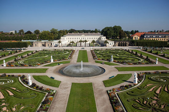 Herrenhäuser Gärten in Hannover, Germany - Foto: Coptograph