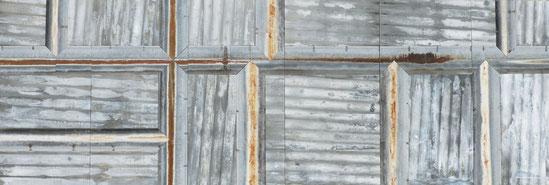 Mur de zinc 2 x 6 mètres, pour le musée d'art contemporain des Hautes Alpes, à Gap(05) de mars 2017 à mars 2018